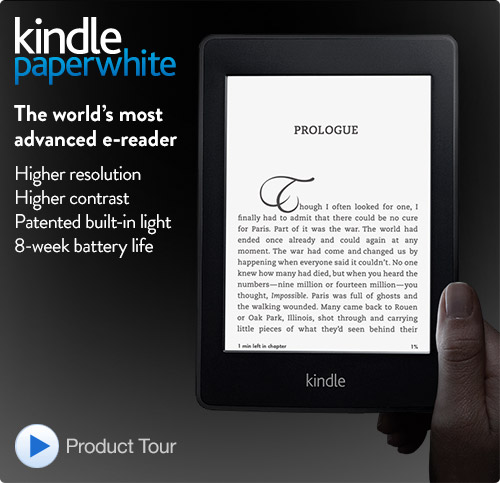 A literary Gadget Kindle Paperwhite