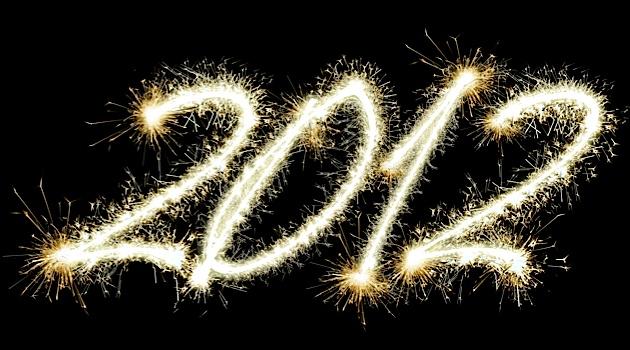 Adieu 2012!