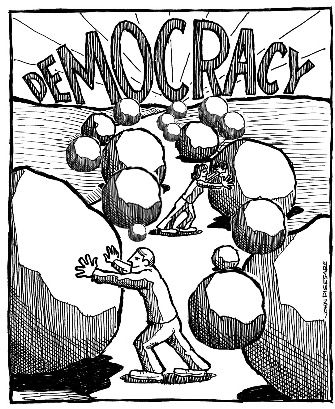 Democracy-A Compromise Story