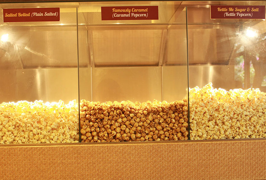 It's a popcorn outlet chain!