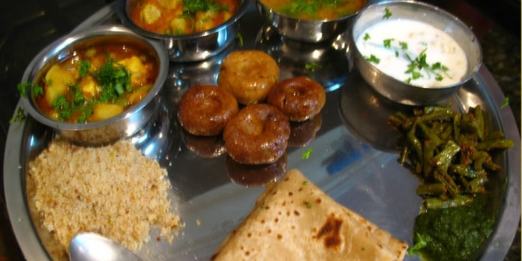 The typical Rajasthani Thali