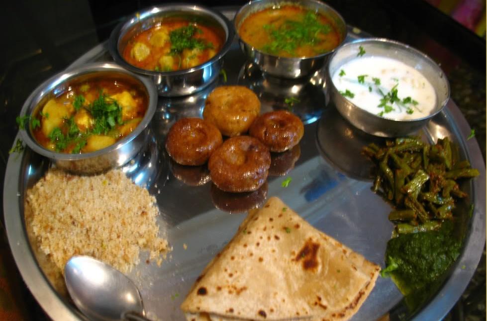 The typical Rajasthani Thali