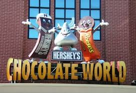 Hershey and the chocolate factory!