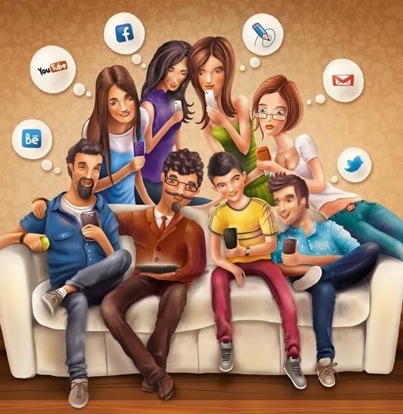 The Social Media Addict | Youthopia