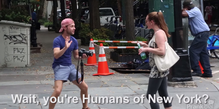 Humans of new york Spoof | Youthopia