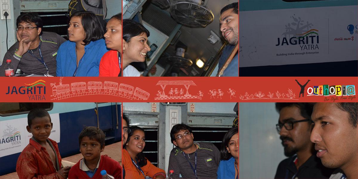 Day 1 - Jagriti Yatra 2014 - Youthopia