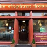 The Elephant House cafe: Birthplace of the Harry Potter books (where JK Rowlings wrote her manuscripts)