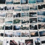 A photograph wall