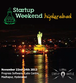 Global Startup Battle comes to India | Startup Weekend Hyderabad