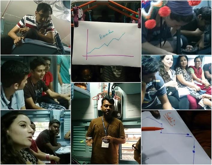 Jagriti Yatra 2013 - Day 2
