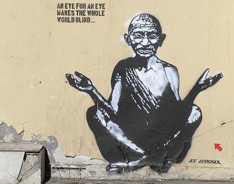 M.K Gandhi needs a good PR agent in 21st century
