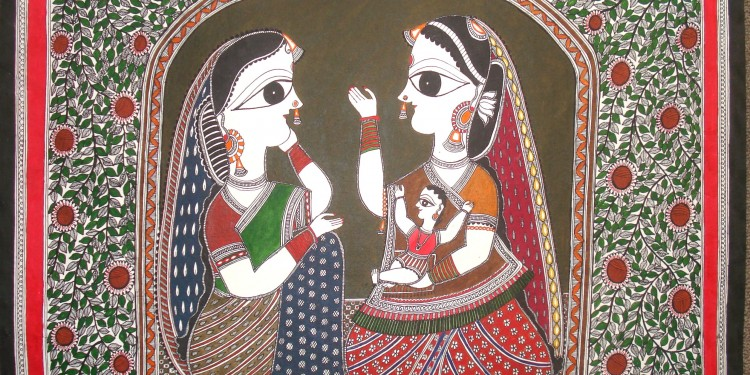 Of no signatures: Mithila Paintings