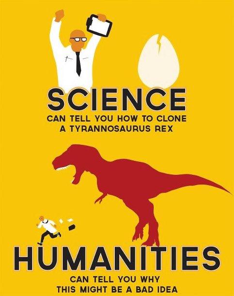 Sciences VS Humanities: A Prejudice