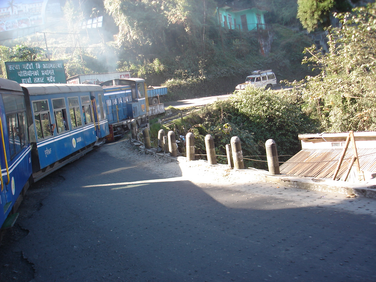 The Kanchenjunga, the queen and the marvelous Toy Train