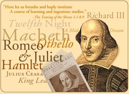 The lost love for Shakespeare