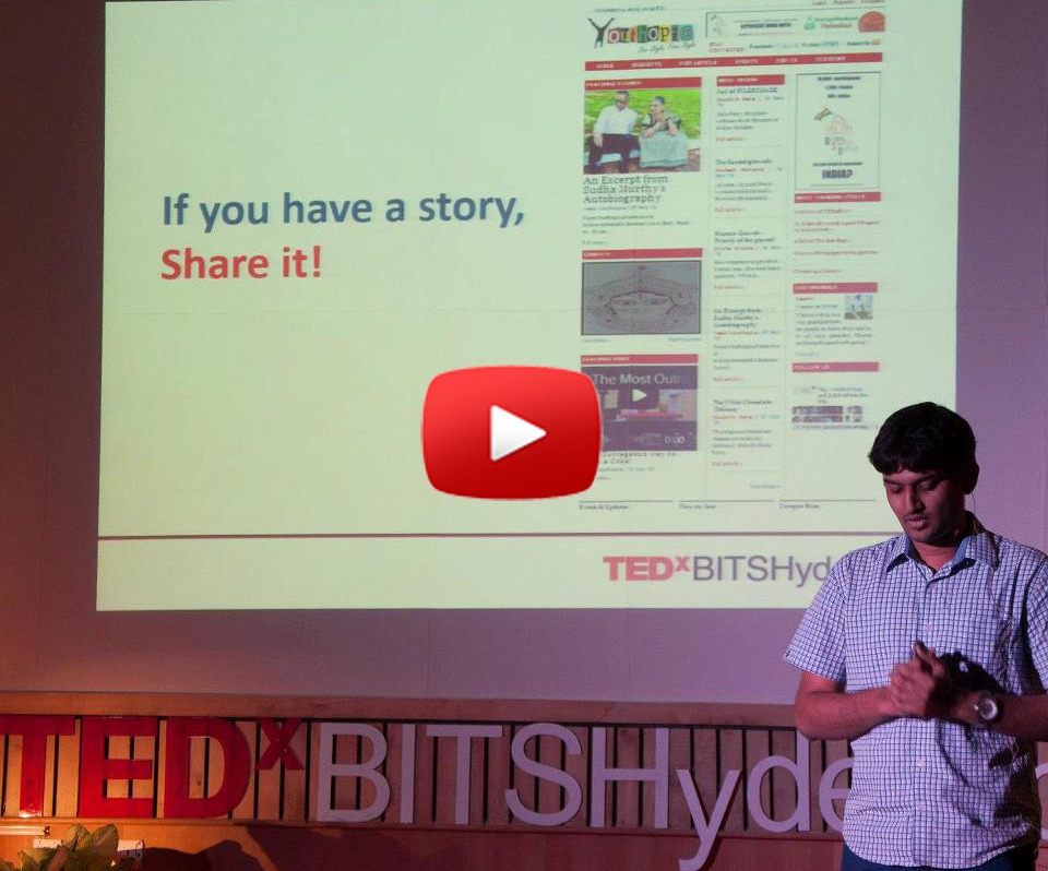 Surya TEDx Talk at BITS Hyderabad