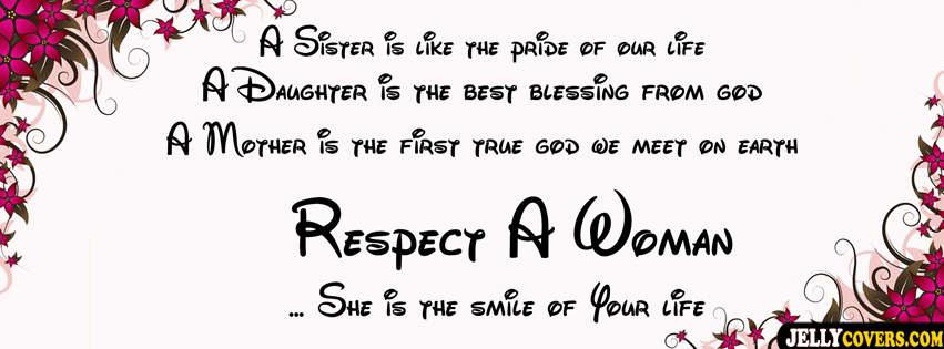 Respect Women,Save Girlchild